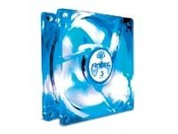 Antec 120mm Case Fan, Tricool Blue LED Fan, w 3 Speed Switch, 3Pin 4Pin Power, TRICOOL 120MM BLUE, 5903946, Cooling Systems/Fans
