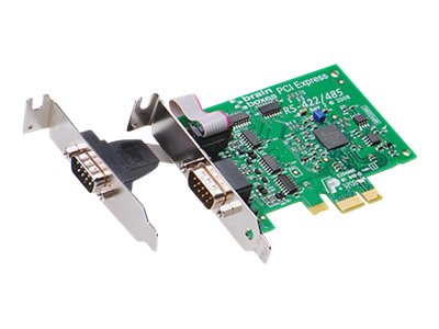 Brainboxes Serial adapter - PCI Express x1 - RS-422, RS-485 - 2 ports, PX-303, 16269629, Network Adapters & NICs