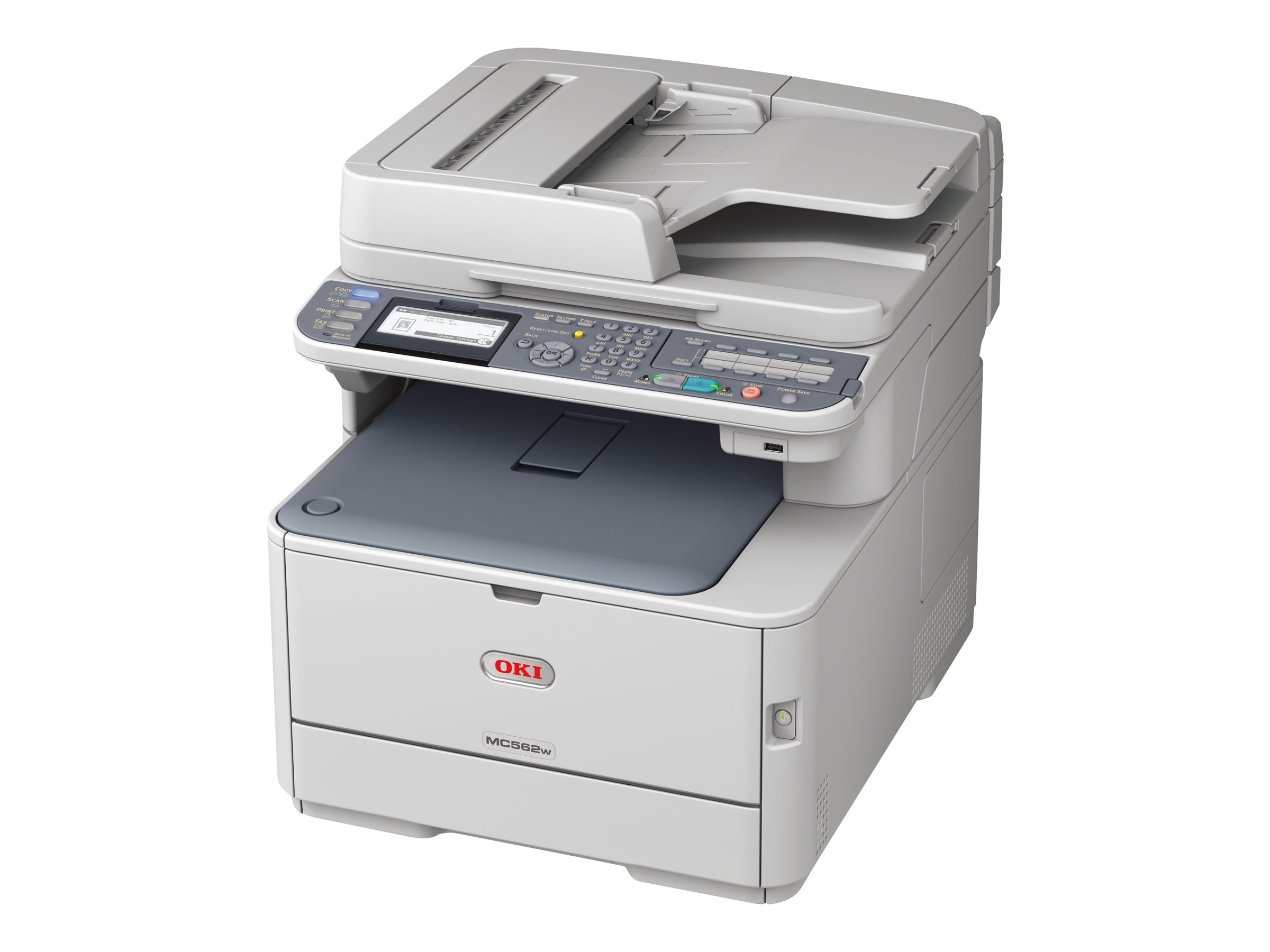 Oki MC562w Color MFP, 62441904
