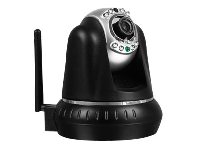 Aluratek Wireless IP PTZ Surveillance Camera with Night Vision and Two-Way Audio, AIPC100F
