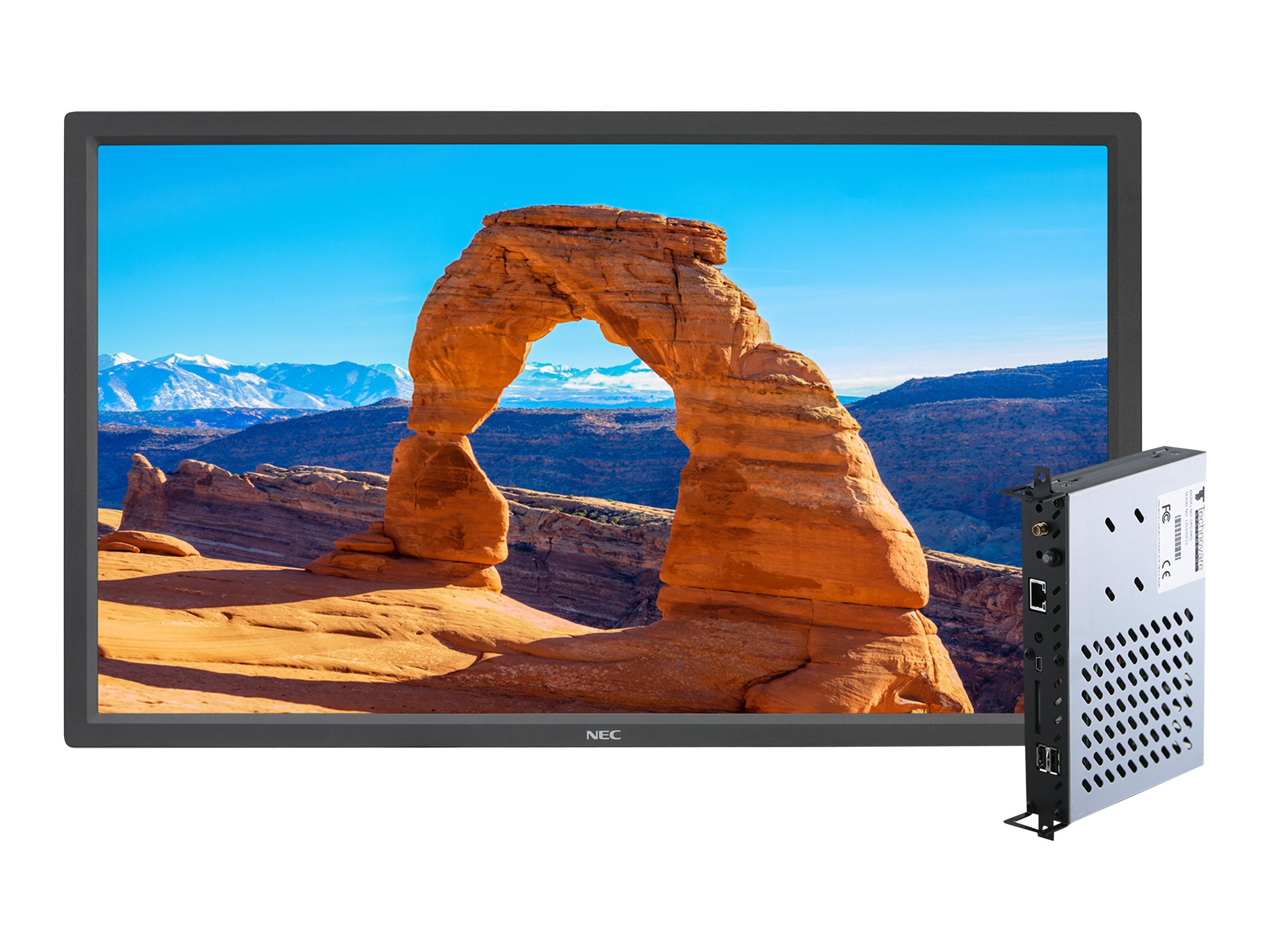 NEC 32 V323 Full HD LED-LCD Display with Integrated Digital Media Player, V323-2-DRD