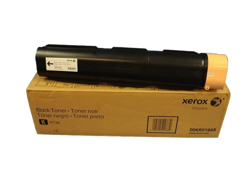 Xerox Black Toner Cartridge for D136 Copier Printer, 006R01668