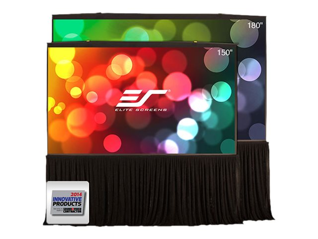 Elite QuidStand 5-Second Projection Screen, 16:9, 180, QS180HD, 18403297, Projector Screens