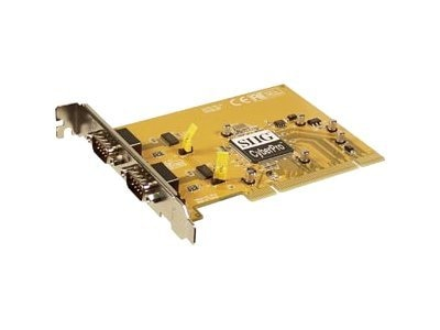 Siig CyberSerial Dual RoHS SGL Serial, JJ-P02012-B6, 7079954, Remote Access Hardware
