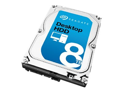 Seagate 8TB Desktop SATA 6Gb s 3.5 Internal Hard Drive - 256MB Cache