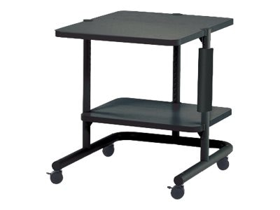 Ergotron 24 Small AnthroCart 2 with 4 Casters, Black
