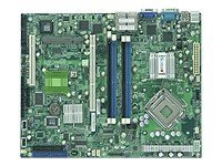 Supermicro Motherboard, 3200, Xeon QC, 1333MHz, ATX, Max 8GB DDR2, PCI, PCIX, 4GBE, Video, SATA, MBD-X7SBI-LN4-O, 8023848, Motherboards