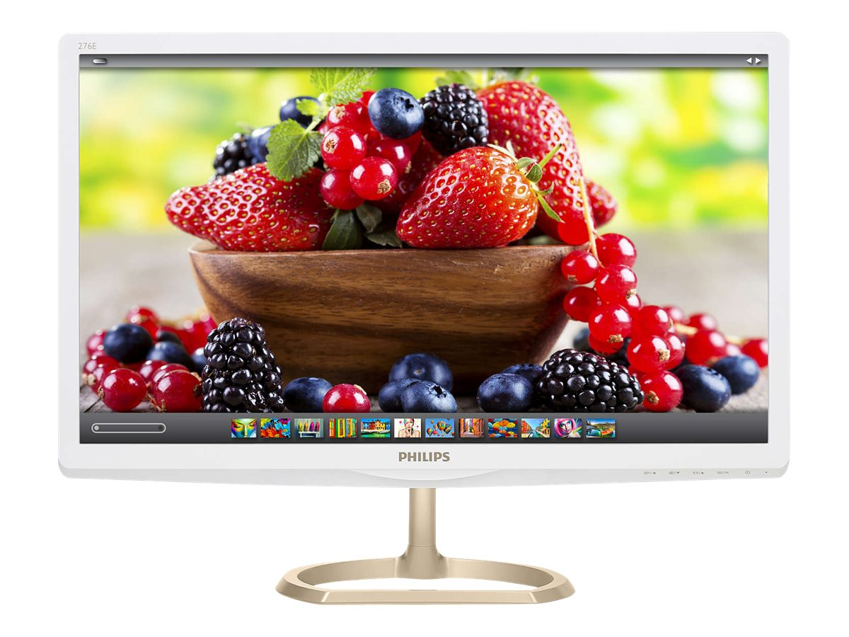 Philips 27 6E6ADSS Full HD LED-LCD Monitor, White, 276E6ADSS