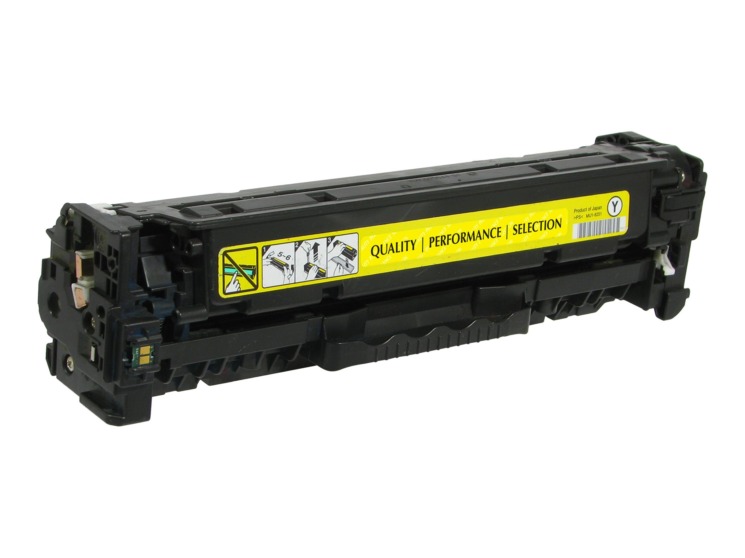 V7 CE412A Yellow Toner Cartridge for HP LaserJet Pro Color M375 M451