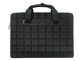 Macally Neoprene Sleeve for 15 Notebook, Black, AIRCASE, 14043714, Carrying Cases - Notebook