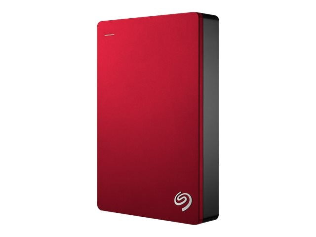 Seagate 4TB Backup Plus USB 3.0 Portable Hard Drive - Red, STDR4000902, 31173094, Hard Drives - External