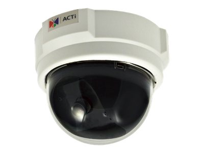 Acti 1MP Indoor Dome Camera w  Fixed Lens