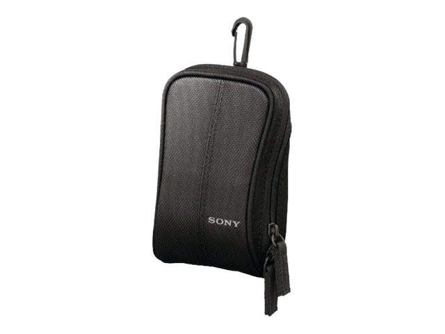 Sony Soft Carrying Case, Lightweight, for Cyber-Shot Camera, Black, LCSCSW/B