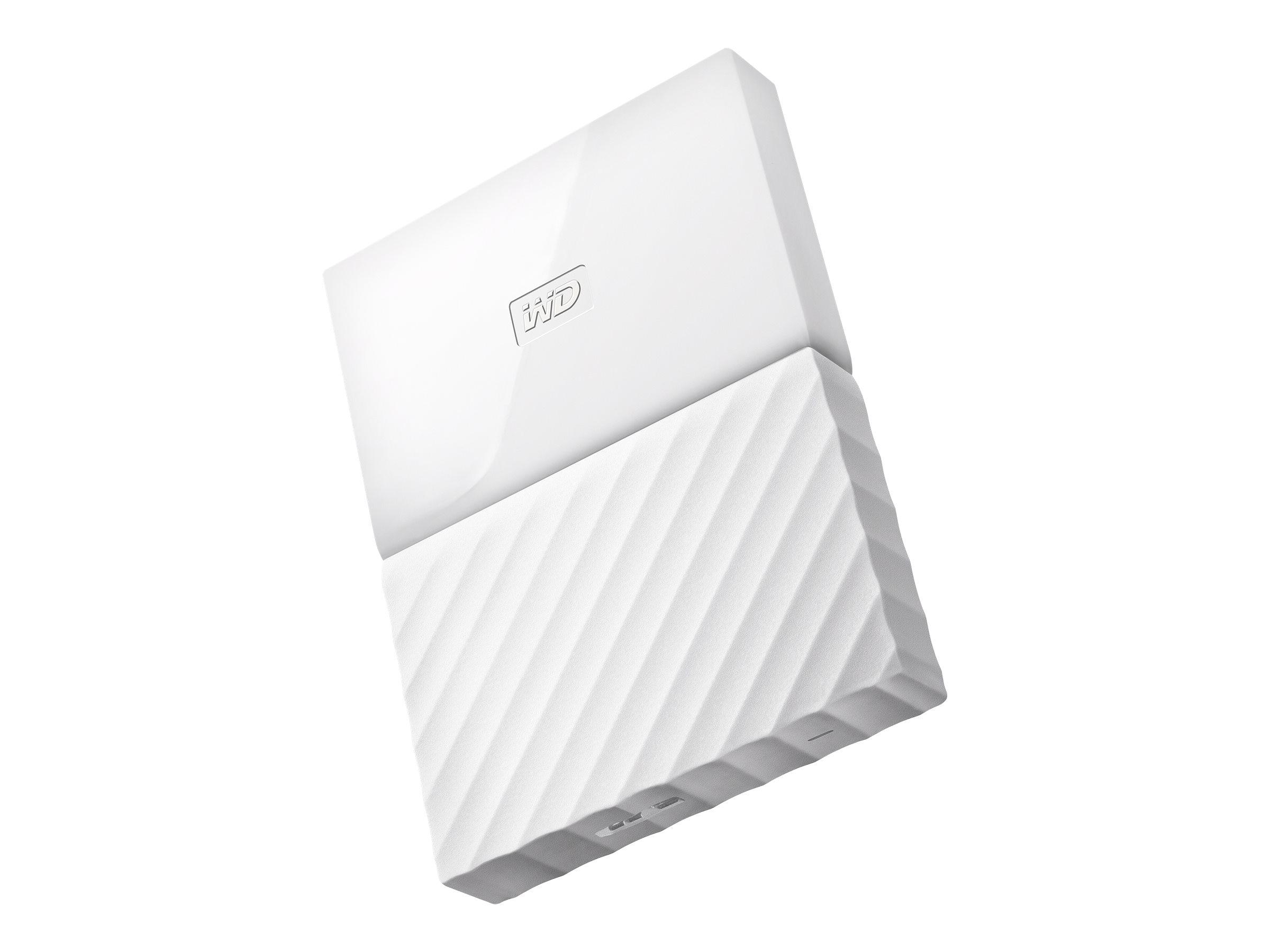 WD 2TB My Passport USB 3.0 Portable Hard Drive - White
