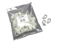 C2G Nylon Cable Clamp, 1 4 (50-pack), 43049, 7966377, Cable Accessories