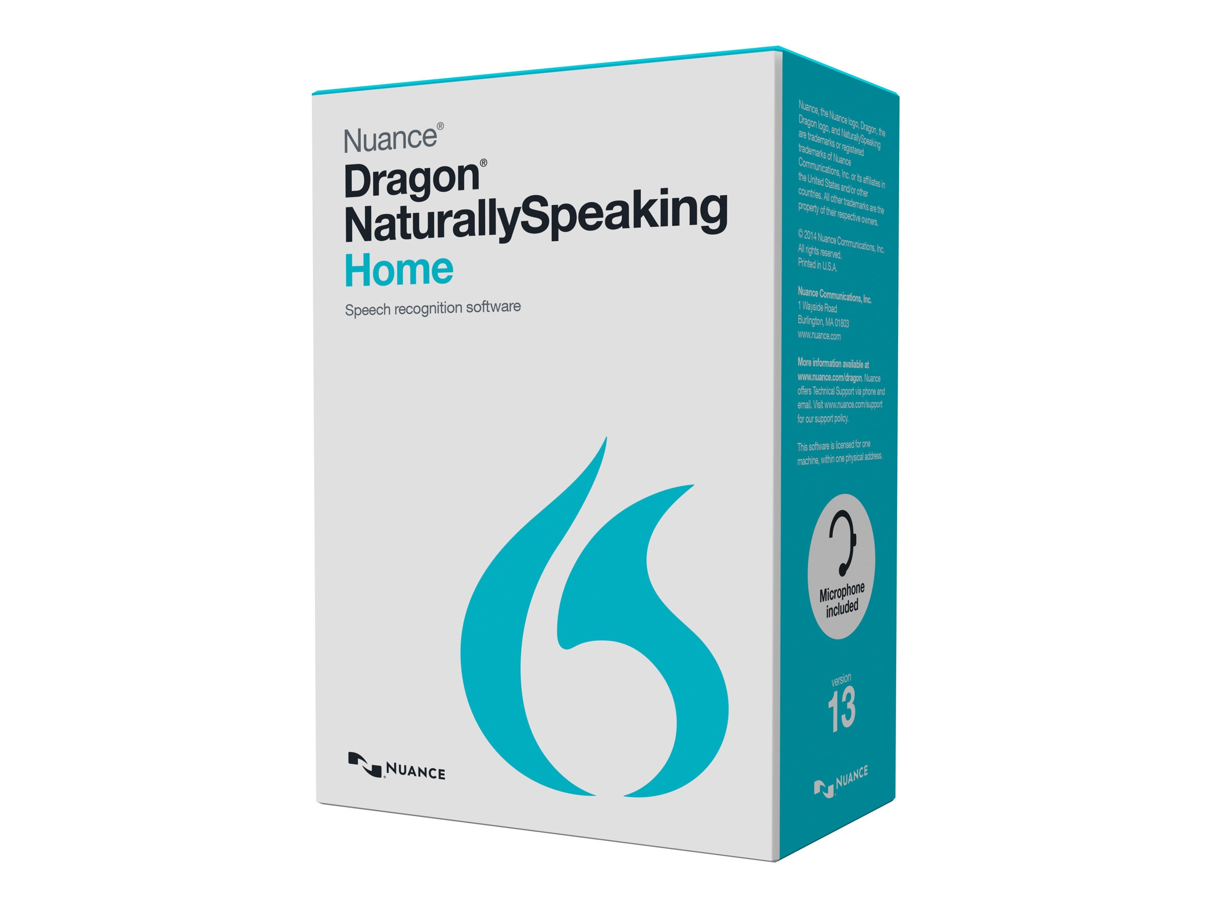 Nuance Dragon NaturallySpeaking 13.0 Home - US Retail
