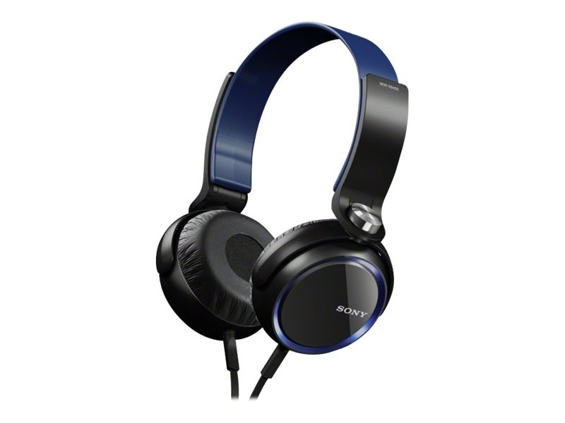 Sony Extra Bass 30mm Headphones - Blue, MDRXB400/BLU, 14763965, Headphones