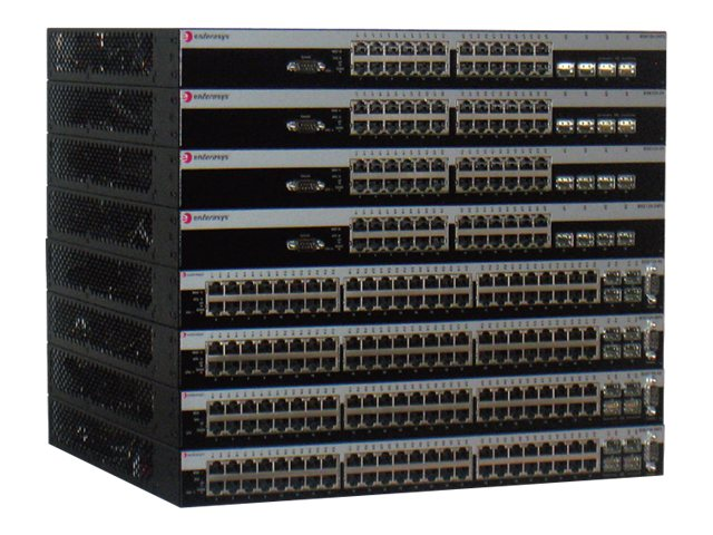 Enterasys B5 Stackable Switch PoE + 4 SFP, B5G124-48P2, 11141950, Network Switches
