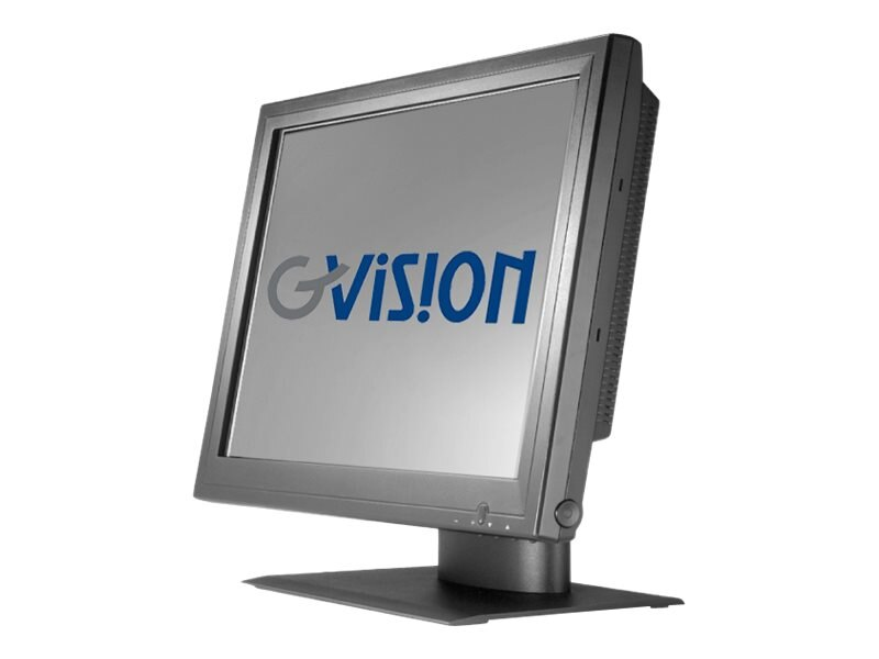 GVision 18.5 P19BC-AB-459G LCD Resistive Touchscreen Display, Black