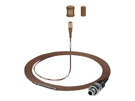 Sennheiser MKE 1-5-2 Sound Pro Clip-On Microphone Open-ended Cable, 3m, Brown, 502836, 17692453, Microphones & Accessories
