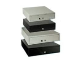 APG Vasario Manual Cash Drawer, 16 x 16, without Media Slots (VP101-BL1616), VP101-BL1616, 416115, Cash Drawers