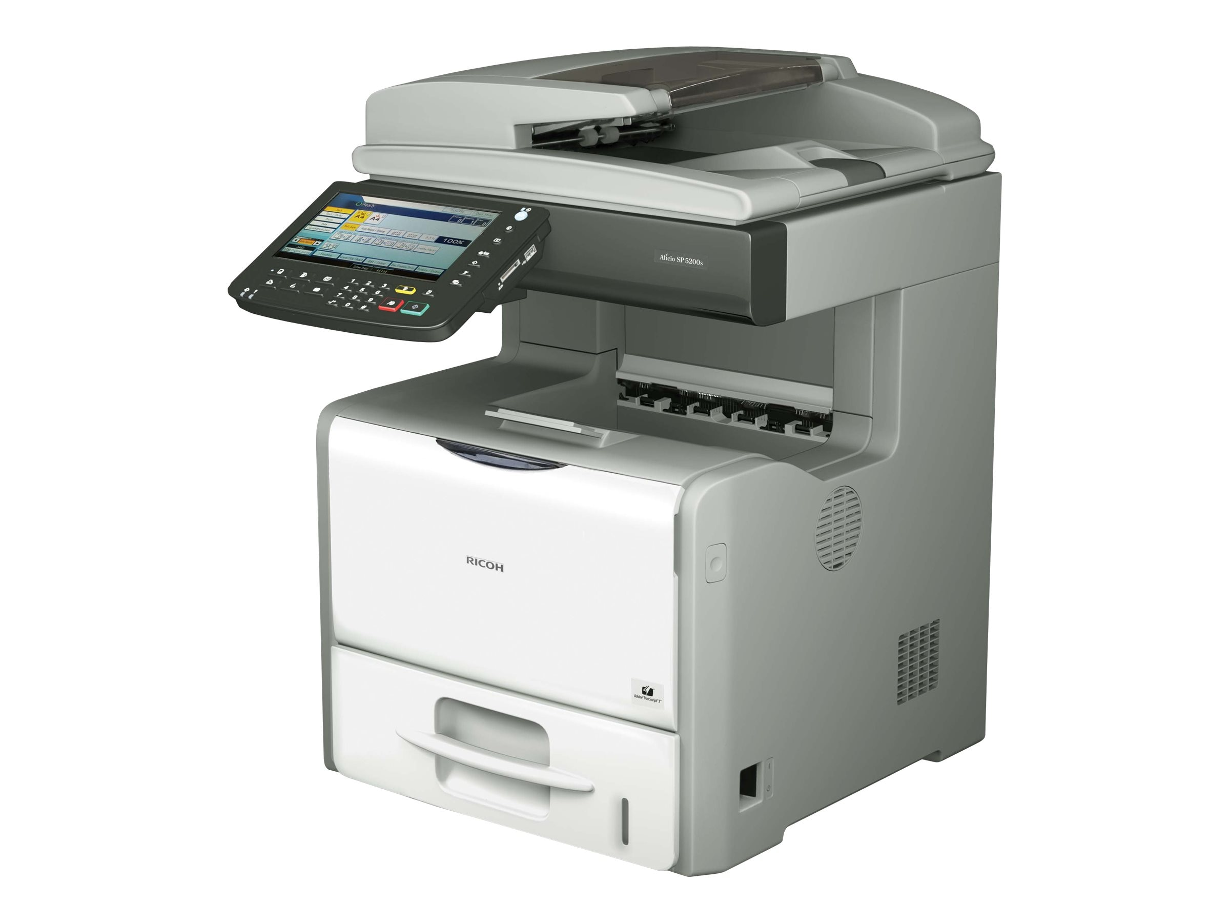 Ricoh Aficio SP 5200SG Printer, 407570, 16586341, Printers - Laser & LED (color)