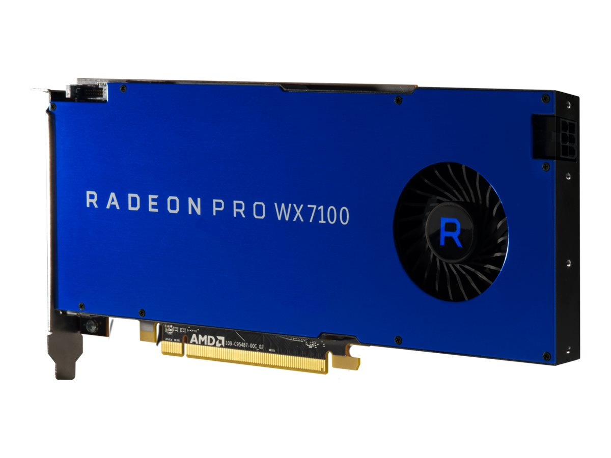 AMD Radeon Pro WX 7100 PCIe Graphics Card, 8GB GDDR5