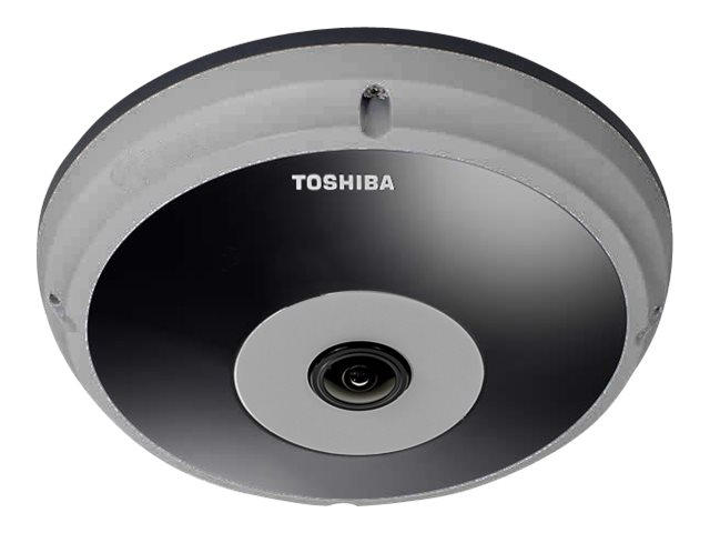 Toshiba 5MP Vandal-Resistant IP Outdoor Dome Camera, IK-WF51R