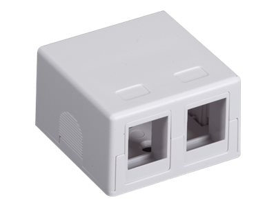 Black Box Connect RJ-45 Surface Mount Housing