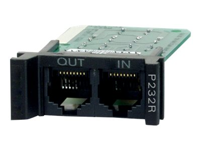 APC Replacable Rackmount, 1U, RS232 Surge Protection Module (P232R), P232R, 444506, Surge Suppressors