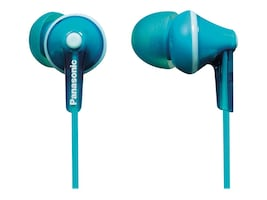 Panasonic ErgoFit In-Ear Earphones - Torquoise Blue, RP-HJE125-Z, 21085912, Headphones