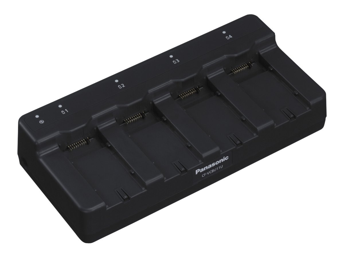 Panasonic 4-Bay Battery Charger for CFU1 & CFH1, CF-VCBU11U