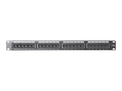 Comprehensive 24-Port CAT6 Patch Panel