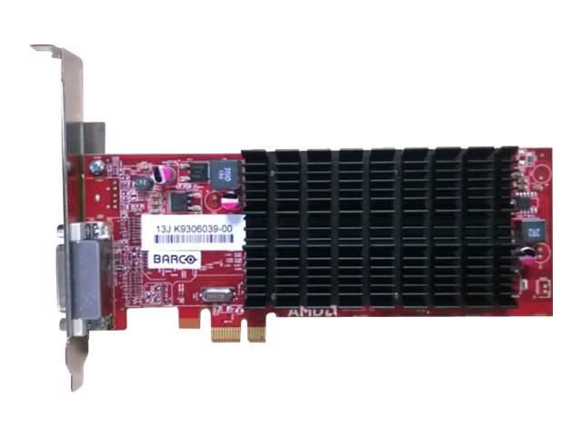 Barco MXRT-1451 PCIe 2.1 x1 Low-Profile Graphics Card, 1GB DDR3, K9306039, 31952418, Graphics/Video Accelerators