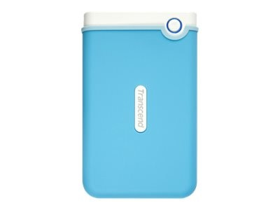 Transcend 2TB StoreJet 25M3 USB 3.0 2.5 Portable HDD, Baby Blue