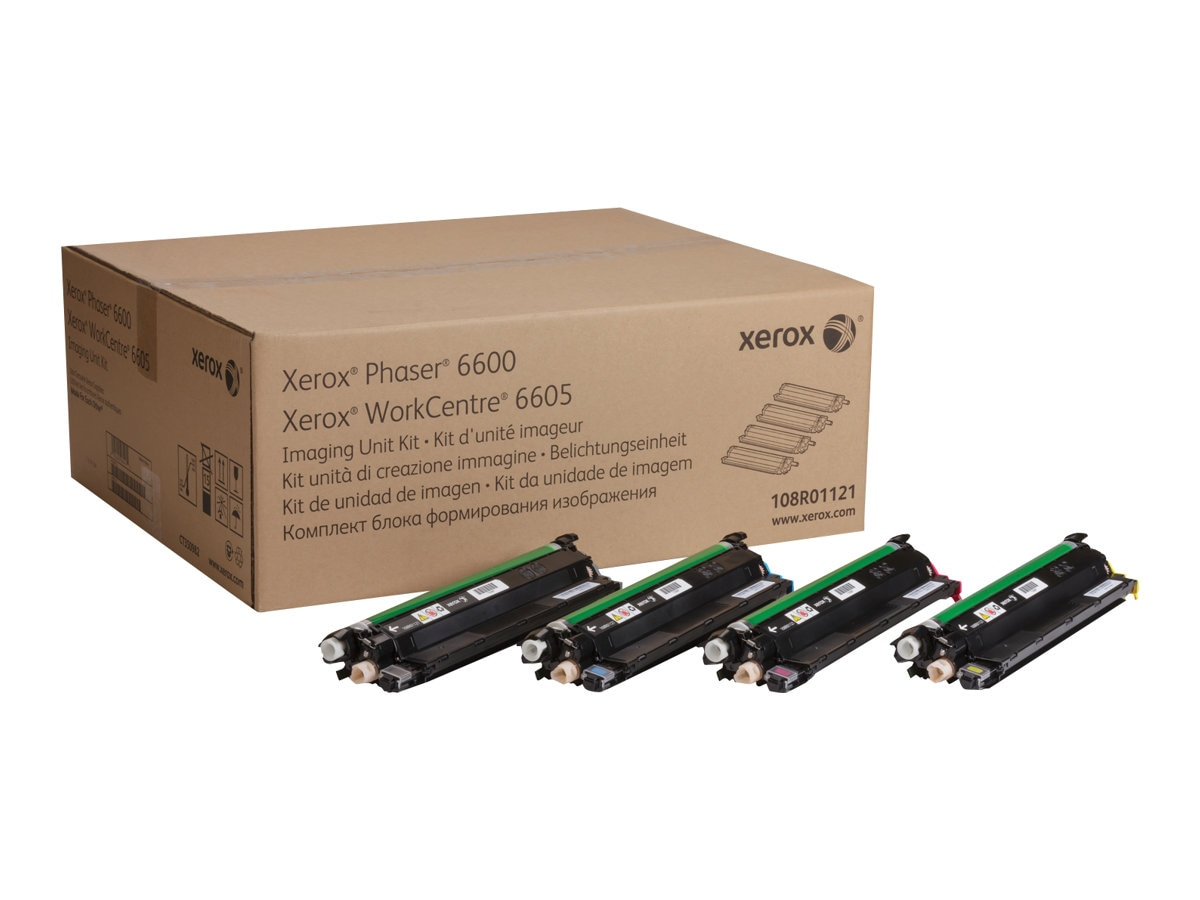 Xerox Imaging Unit Kit for Phaser 6600 & WorkCentre 6605 Series, 108R01121, 14745396, Toner and Imaging Components