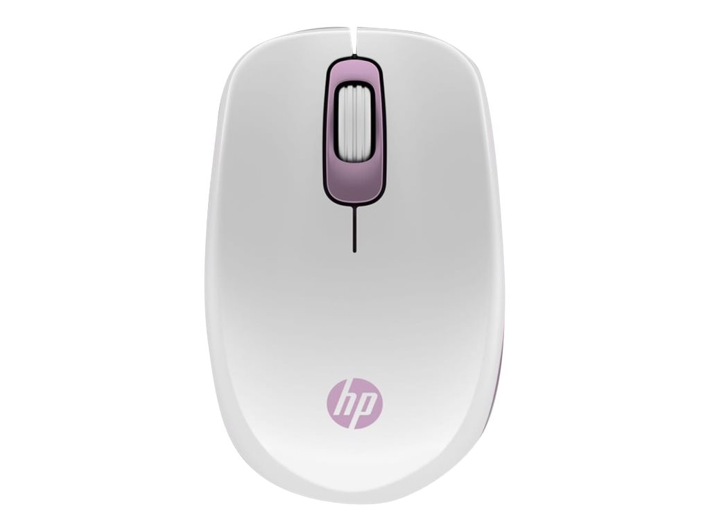 HP Z3600 Pink Bluetooth Wireless Mouse, H7B00AA#ABA, 17682845, Mice & Cursor Control Devices