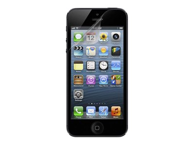 Belkin Anti-Smudge Screen Protector for iPhone 5, F8W180TT2, 15077107, Protective & Dust Covers