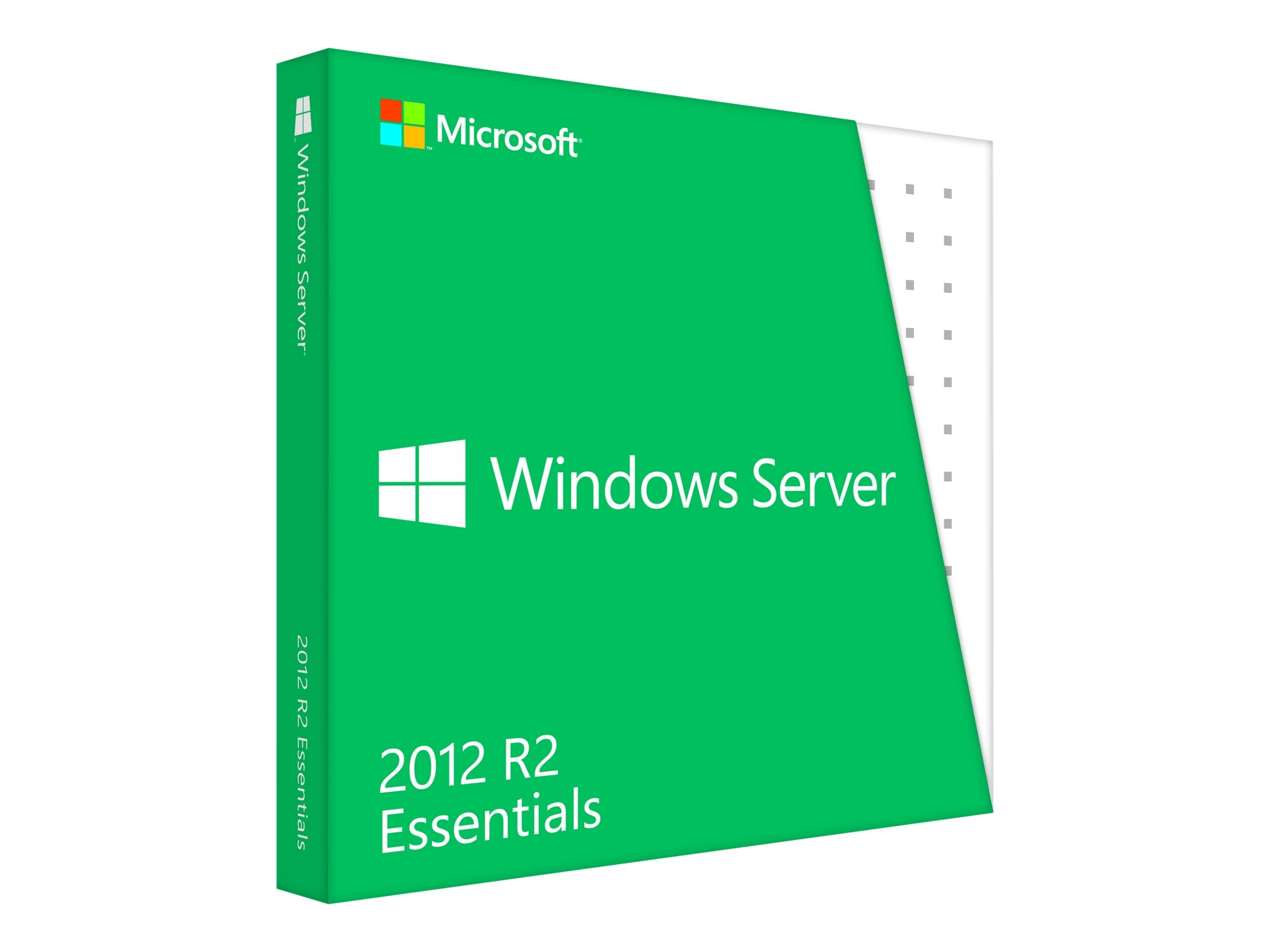 Microsoft Windows Server Essentials 2012 R2 64Bit DVD, G3S-00587, 16589139, Software - Operating Systems
