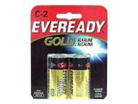 Energizer Eveready C 2 Pack Alkaline, A93BP-2, 9627934, Batteries - Other