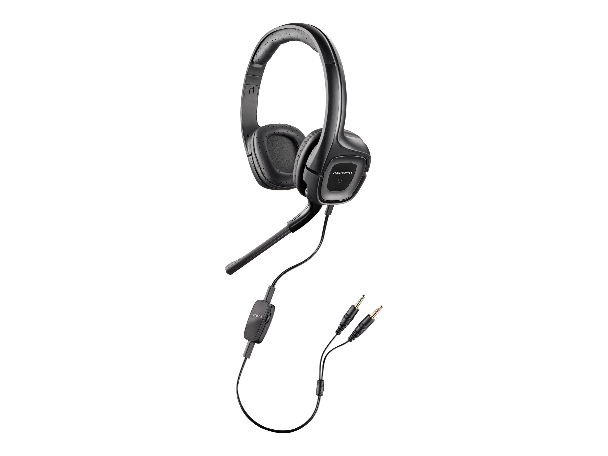 Plantronics Audio 355 with 3.5mm Adapter, 79730-21, 15447260, Headsets (w/ microphone)