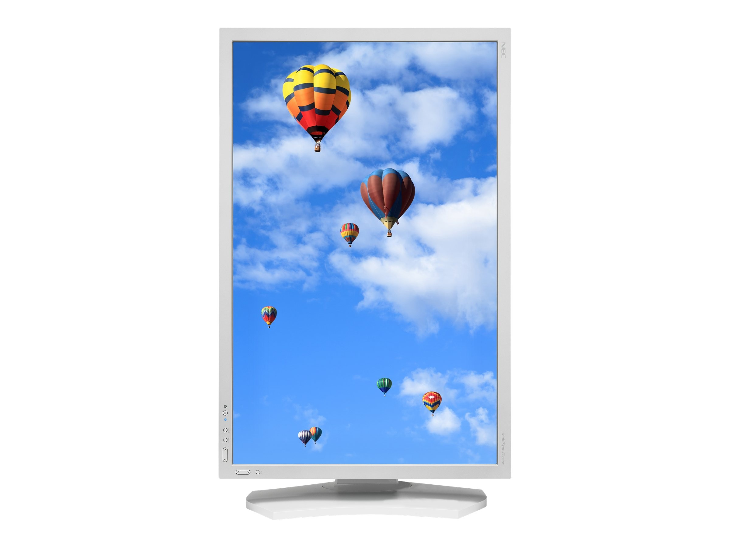 NEC 29.8 PA302W LED-LCD Monitor, White
