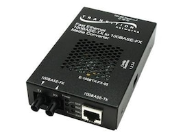 Transition 100Base-TX to 100Base-FX SC MM 2KM SA Media Converter, E-100BTX-FX-05SC-NA, 16049141, Network Transceivers