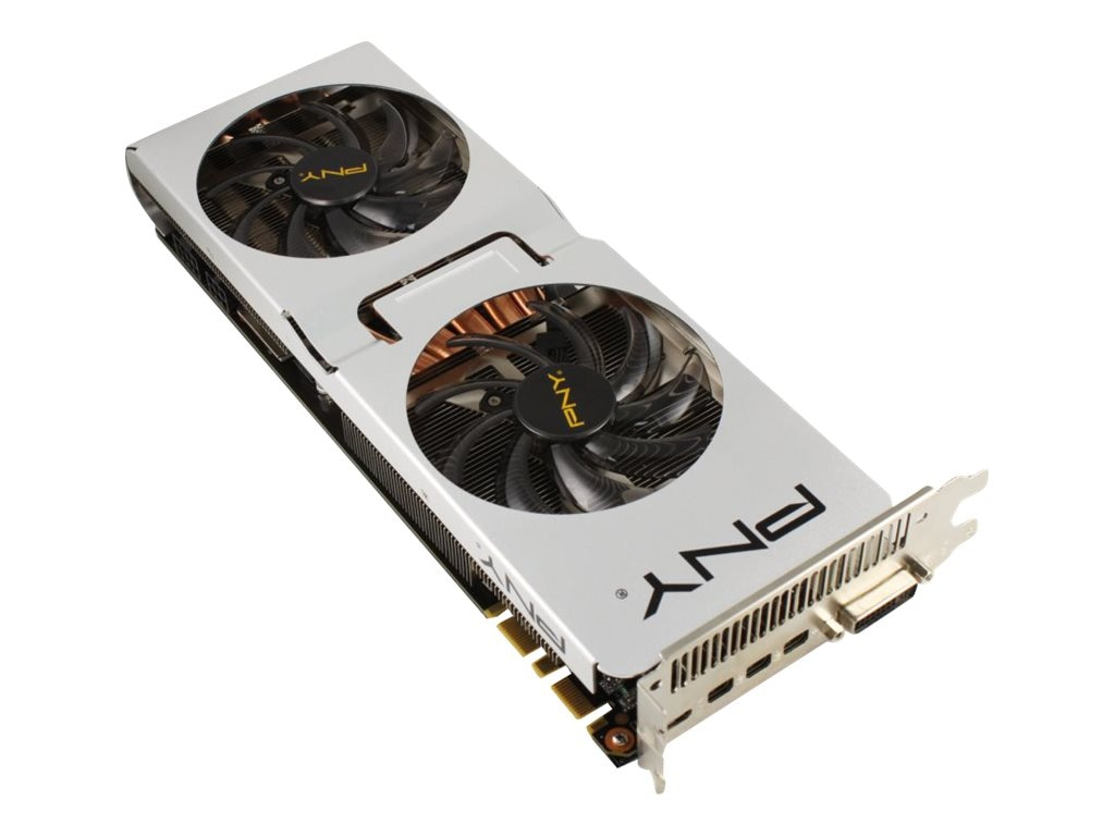 PNY GeForce GTX 980 PCIe 3.0 x16 Overclocked Graphics Card, 4GB GDDR5, VCGGTX9804XPB-XP-OC, 18446422, Graphics/Video Accelerators