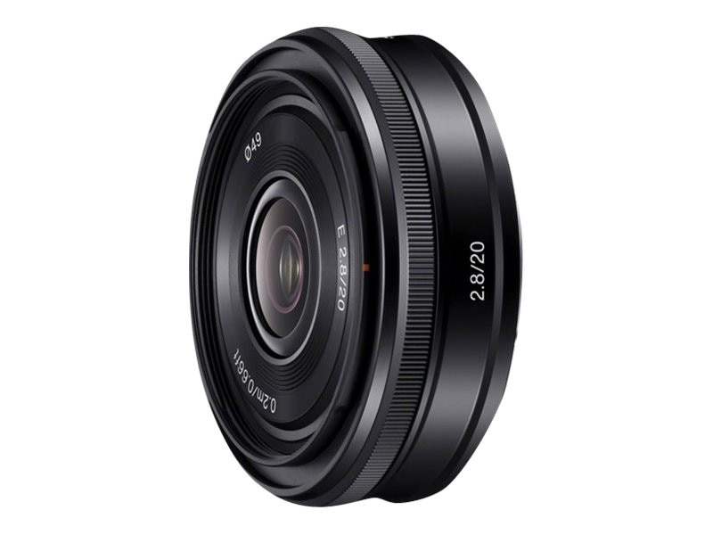 Sony SEL20F28 Wide Angle Lens, 20mm, SEL20F28