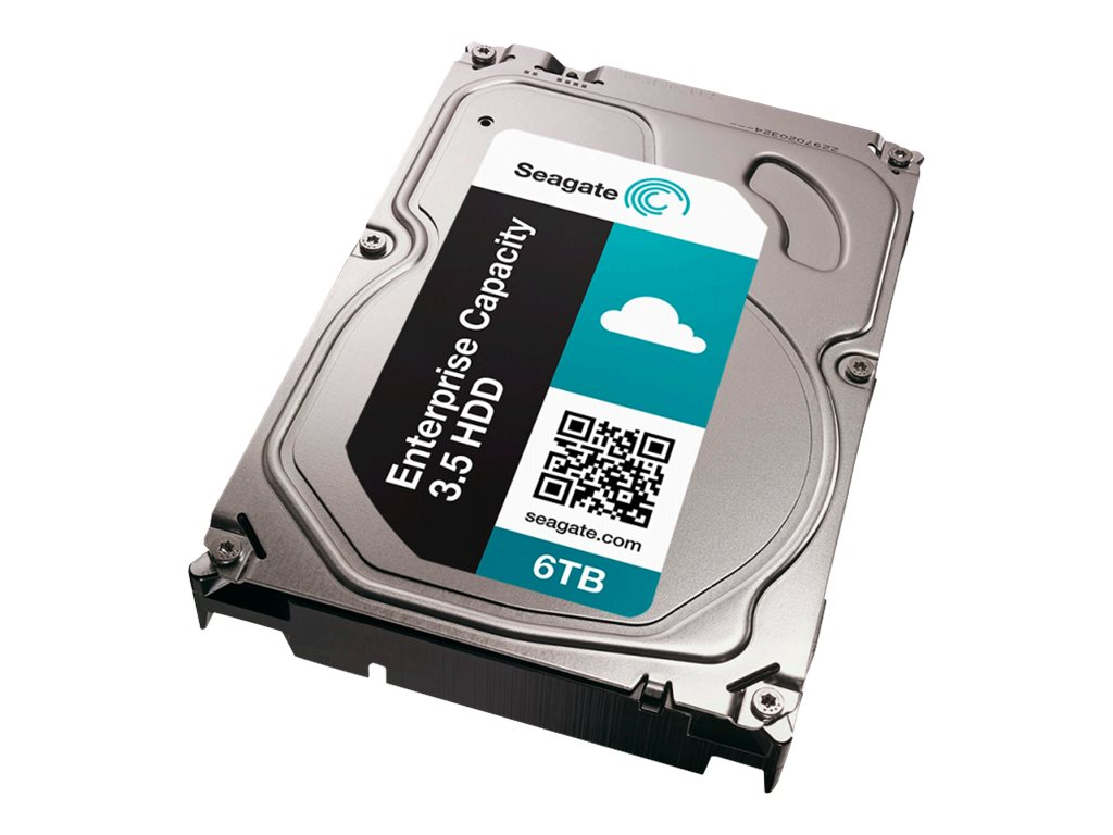 Seagate 6TB SATA 6Gb s Enterprise Capacity SED 3.5 Internal Hard Drive - 4K Native
