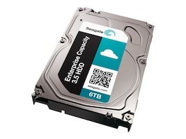Seagate 6TB 7200 RPM 3.5 Internal Hard Drive, ST6000NM0024, 17008228, Hard Drives - Internal