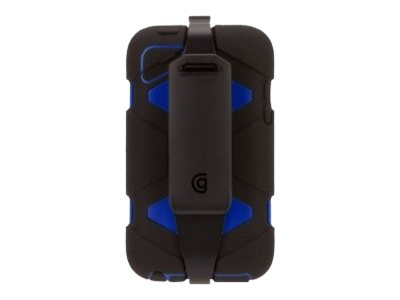 Griffin Survivor Rugged case for Touch 4G Black Blue, GB35365-2, 15726584, Carrying Cases - Other