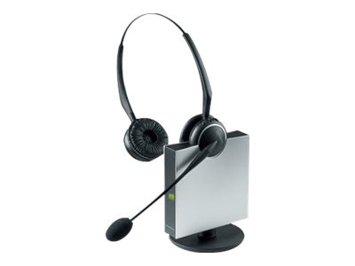 Jabra GN9125 Duo Flex Wireless Noise Canceling Headset, 9129-808-215, 8996658, Headsets (w/ microphone)