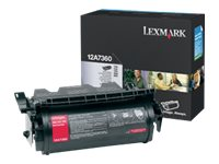 Lexmark Black Toner Cartridge for T630, T632 & T634 Printers, 12A7360, 431734, Toner and Imaging Components